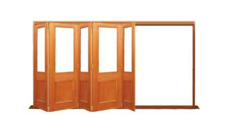 victorian single light: five door bifold - all left or all right